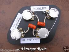 Wiring Kit Orange Drop .022uF Caps CTS 550k SHORT SHAFT pots fit Gibson Les Paul