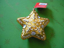 Christopher Radko My PEO Star Glass Ornament