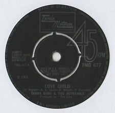 "Diana Ross & Supremes-Amor Niño 7"" solo 1968"