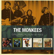 Monkees ORIGINAL ALBUM SERIES +BONUS TRACKS (EU) Box Set HEADQUARTERS New 5 CD