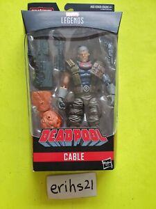 "Marvel Legends CABLE Deadpool BAF Marvel's Sasquatch X-Force 6"" inch NEW Sealed"