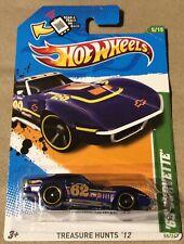 2012 Hot Wheels Treasure Hunts '69 Corvette Limited Edition Rare # 5 Of 12