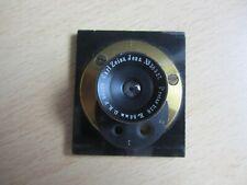Altes Objektiv Zeiss Protar 1:18 / 86 mm