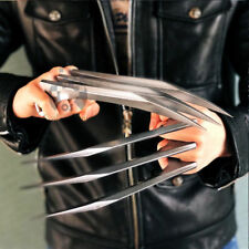A Pair X-Men Logan Wolverine Claws ABS Cosplay 1:1 Props Refinement Copy UK
