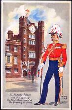1951 Festival of Britain Vintage Art Postcard: St James Palace. Free UK Postage
