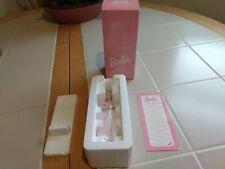1997 Sugar Plum Fairy Barbie Nutcracker Porcelain Avon Christmas Ornament