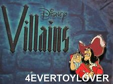 Disney Trading Pin Villains Peter Pan  Hook and Smee Villain NEW