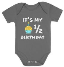 It's My Half Birthday Outfit For Baby 1/2 Birthday Gift Baby Bodysuit Cute