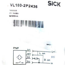 SICK VL180-2P2436 Cylindrical photoelectric sensors PNP New #