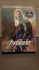 THE AVENGERS 2D + 3D Blu-ray STEELBOOK [NOVAMEDIA] FULLSLIP C [KOREA] THOR COVER