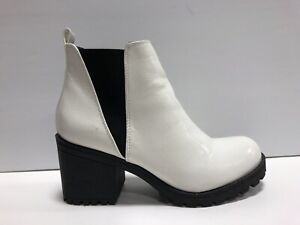 Dirty Laundry Lisbon Womens Bootie White Size 7 M