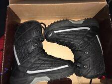 SIMS rally black boys snowboard boots