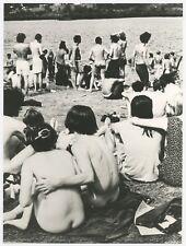 CIN032 Photo vintage Original Cinéma Woodstock Nue Nude
