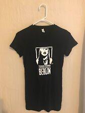 BERLIN TERRI NUNN BLACK BABYDOLL TEE, autographed