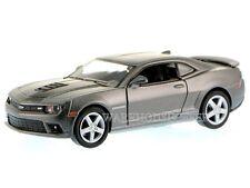 KINSMART DISPLAY 1:38 2014 CHEVROLET CAMARO Die-Cast Car Gray Color KT5383D