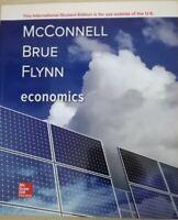 Economics by McConnell, Brue, FLynn (paperback)