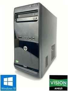 HP 3515 Pro MT - 250GB HDD, AMD A4-5300, 6GB RAM - Win 10 Pro