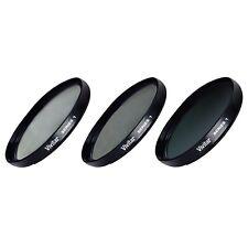 37mm UV CPL ND8 3 Piece Multi Coated Filter Kit for Sony XR100 XR200 XR200v