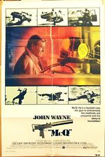 McQ ... 1974 ... 27 X 41 ... Folded ... JOHN WAYNE original movie poster