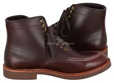 INDY BOOTS Vintage Classic Look Leather Boot High Ankle Dark Brown Western Boots