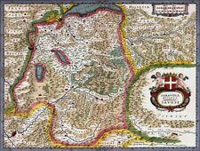 Reproduction carte ancienne - Duché de Savoie XVIIè