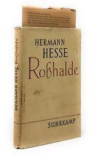 Hermann Hesse / Rosshalde 1956