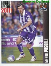 333 mr. pascali italia kilmarnock. fc sticker scottish premier league 2011 panini
