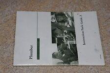 """Penn Foster """"Plumber"""" Instruction Pack Guide 3 #15191500"""