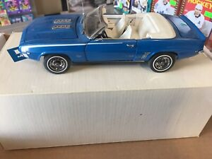 1969 Chevrolet Camaro 1/24 Scale Die Cast 1993 DANBURY MINT BR1