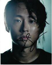 STEVEN YEUN SIGNED THE WALKING DEAD PHOTO UACC REG 242 (10)