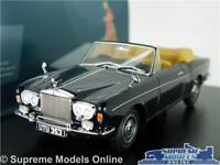 ROLLS ROYCE CORNICHE MODEL CAR 1:43 SCALE BLUE OXFORD DIECAST 43RRC001 K8