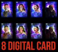 SUPERNATURAL MOTION/STAT 8 CARD SET BETH/RICK+ Topps WALKING DEAD DIGITAL TRADER