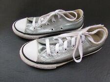 Converse All Star 12 US Silver Metallic Shoes KK1