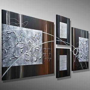 BILDER moderne KUNST Acrylbild MALEREI Leinwand original abstrakt MICO - 150x60
