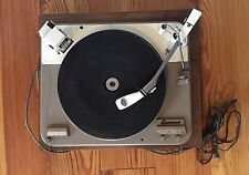 GARRARD TYPE A Idler Wheel Turntable Record Wood Base Made In England For Parts