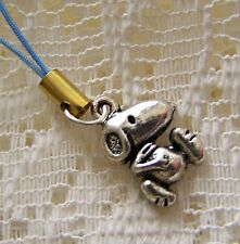 SNOOPY  ~   PHONE ~ CHARM  --- (GREAT_CHRISTMAS_GIFT)