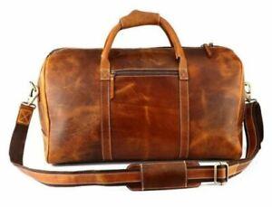 Leather Duffel Bag, Duffle Bag, Gym Bag, Travel Bag Personalized Mens Travel Bag