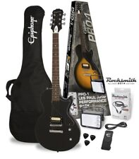 Epiphone PRO-1 Les Paul Junior Pack, Ebony