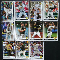 2019 Topps Series 2 Pittsburgh Pirates Team Set 11 Baseball Cards Kevin Kramer