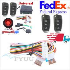 1 Way Anti-Theft Device Car Alarm Keyless Entry Remote System Universal Us Stock