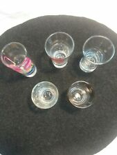 New ListingShot Glasses 5pc collect Barware glassware measure ounce alcohol mixing drinks
