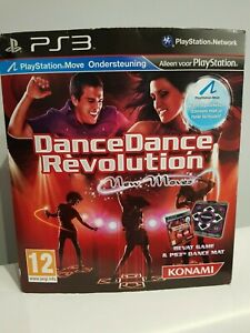 Dance Dance Revolution New Moves Dance Mat PS3 BOX Fast Post Party Game