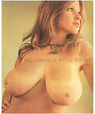 Roberta Pedon model print nude big busty breasts female photo pic woman girl 248