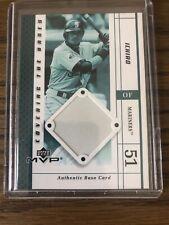 2003 Upper Deck MVP Ichiro Suzuki Authentic Base Card!! Rare Game Used Base