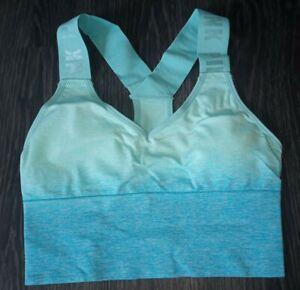 VS pink ultimate lightly lined  sport bra NEW size xs blue ombre