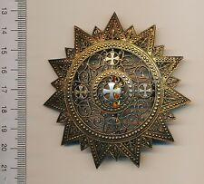 ETHIOPIA Order of the STAR Grand CROSS breast Plate ETHIOPIAN Menelik II Emperor