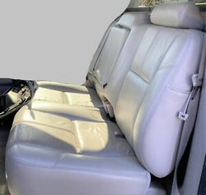 Avalanche 1500 2012 Left 60 Rear Seat Gray Leather 1037030