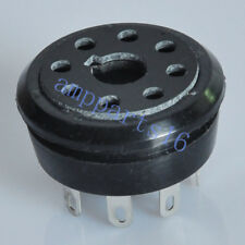 2pcs Vintage 8Pin Octal Bakelite Tube Socket KT88 EL34 5Y3 5AR4 6CA7 Tube Amp