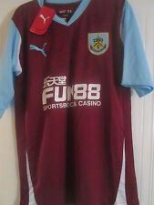 Burnley Home Football Shirt Signed by 2010-2011 Squad with COA BNWT /40632