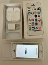 iPhone 5s Silver 16GB A1533 T-Mobile Good Condition Box & Plug included